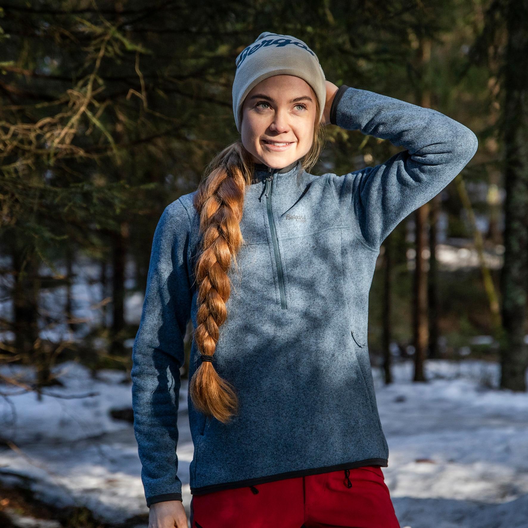 Kamphaug Knitted W Half Zip