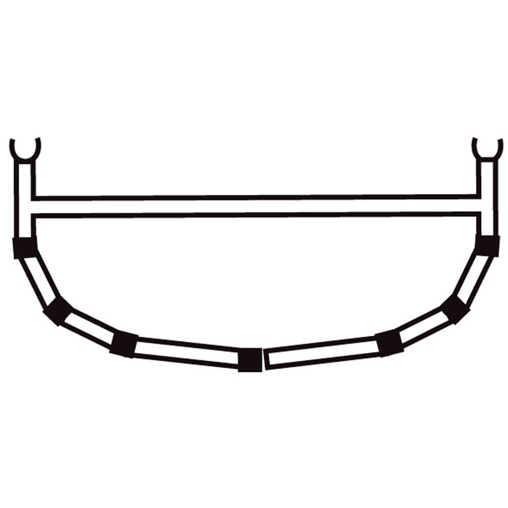 5-Cross Rib w/Top Bar 15/16,5/18
