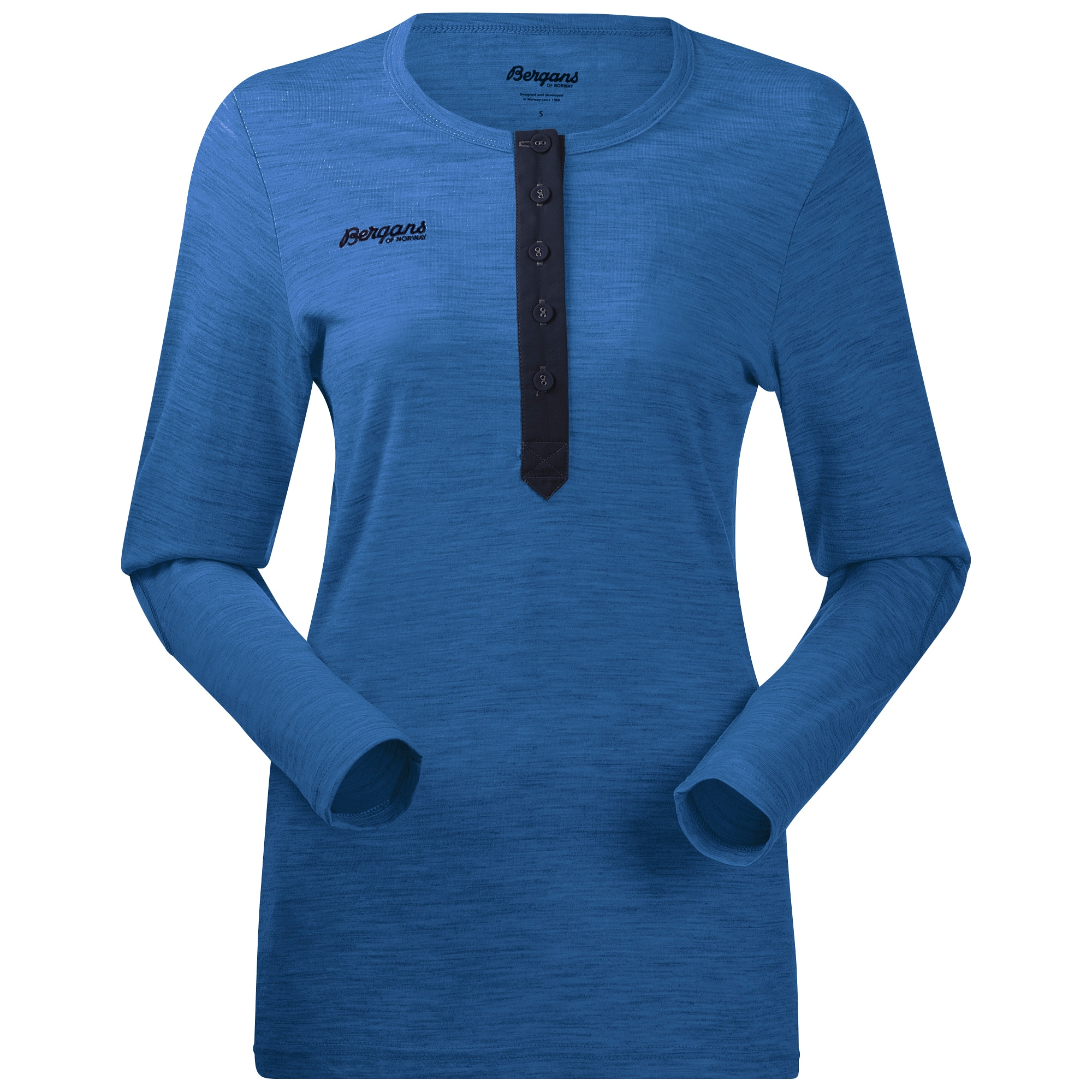 Henley Wool Lady Shirt
