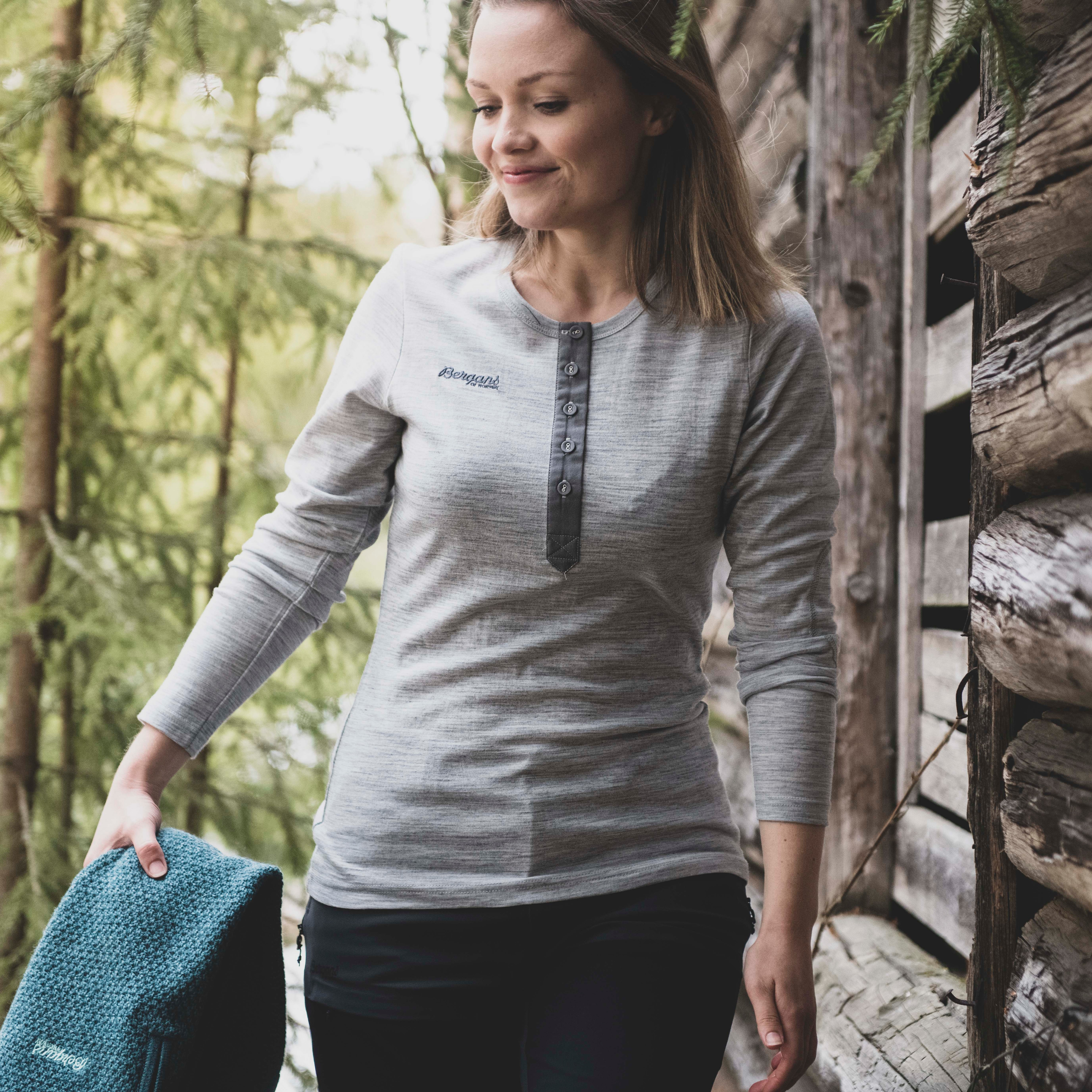 Henley Wool Lady Shirt