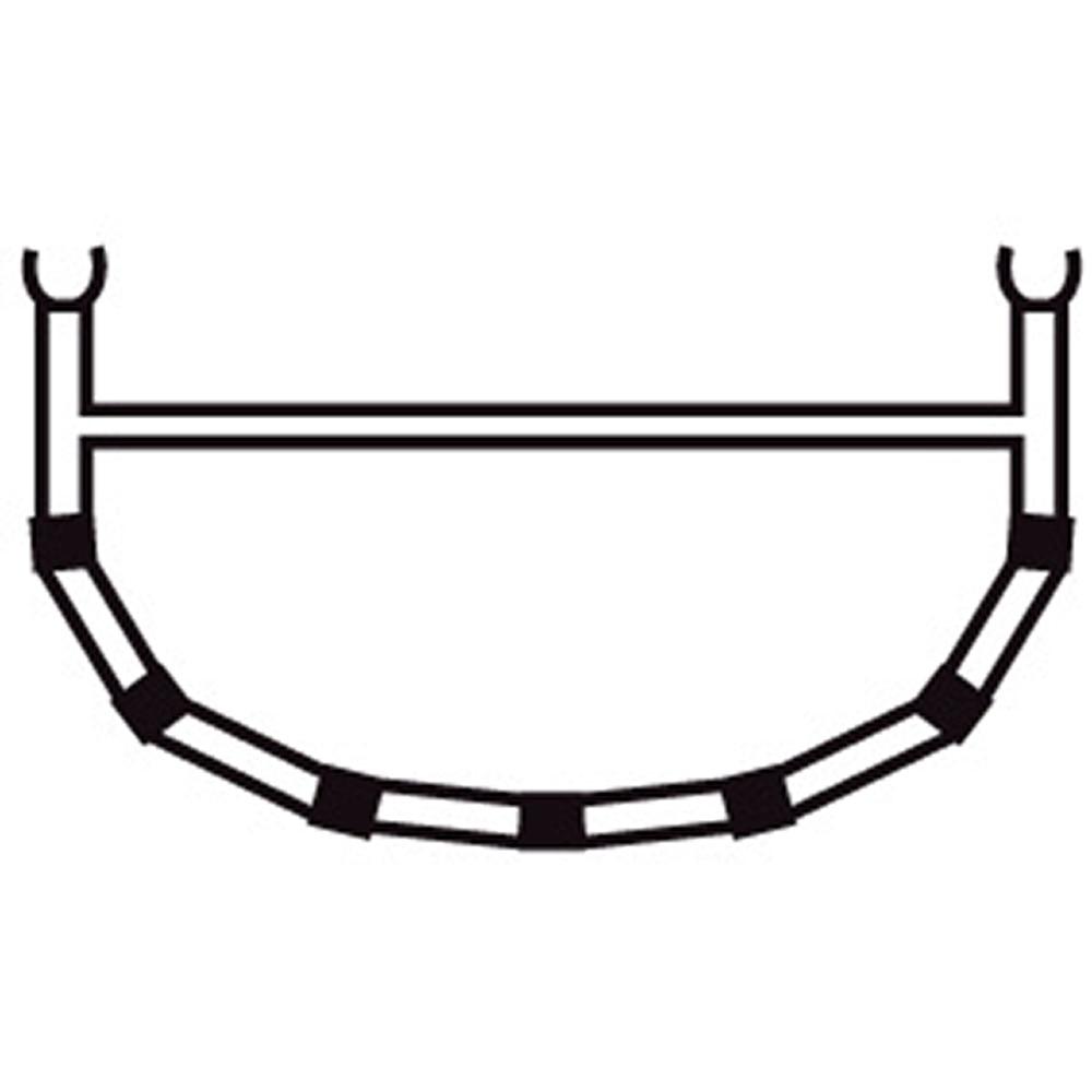 4-Cross Rib w/Top Bar 15,5/17/18,5