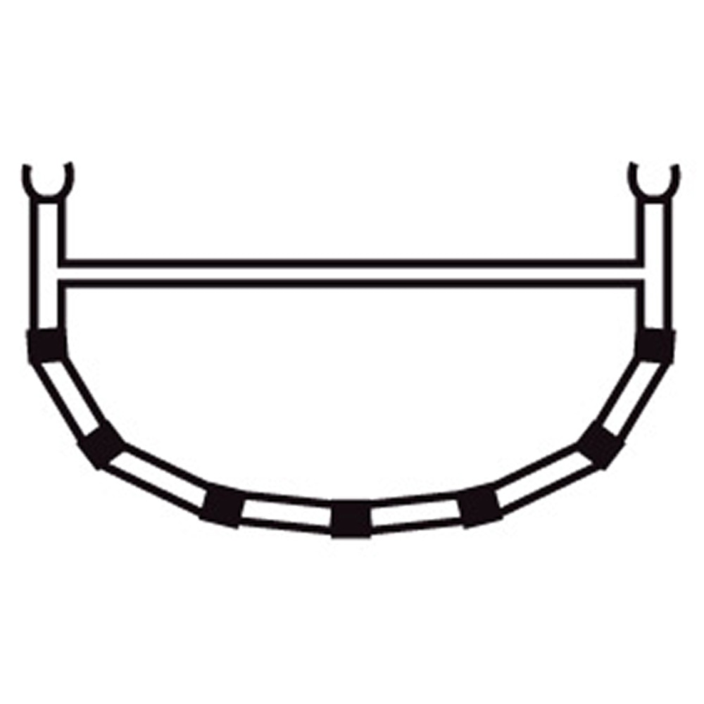 4-Cross Rib w/Top Bar 13,7