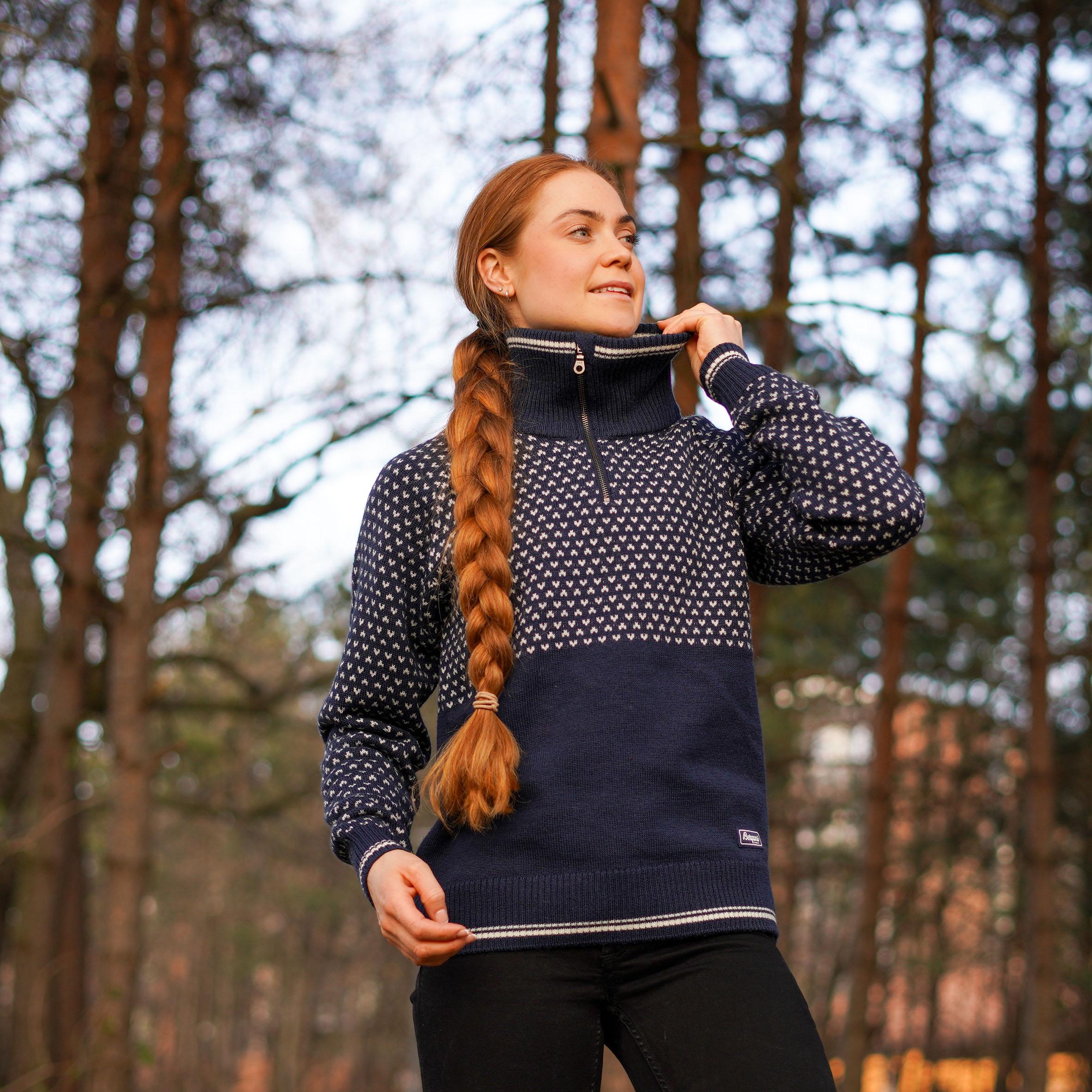 Alvdal Wool W Half Zip