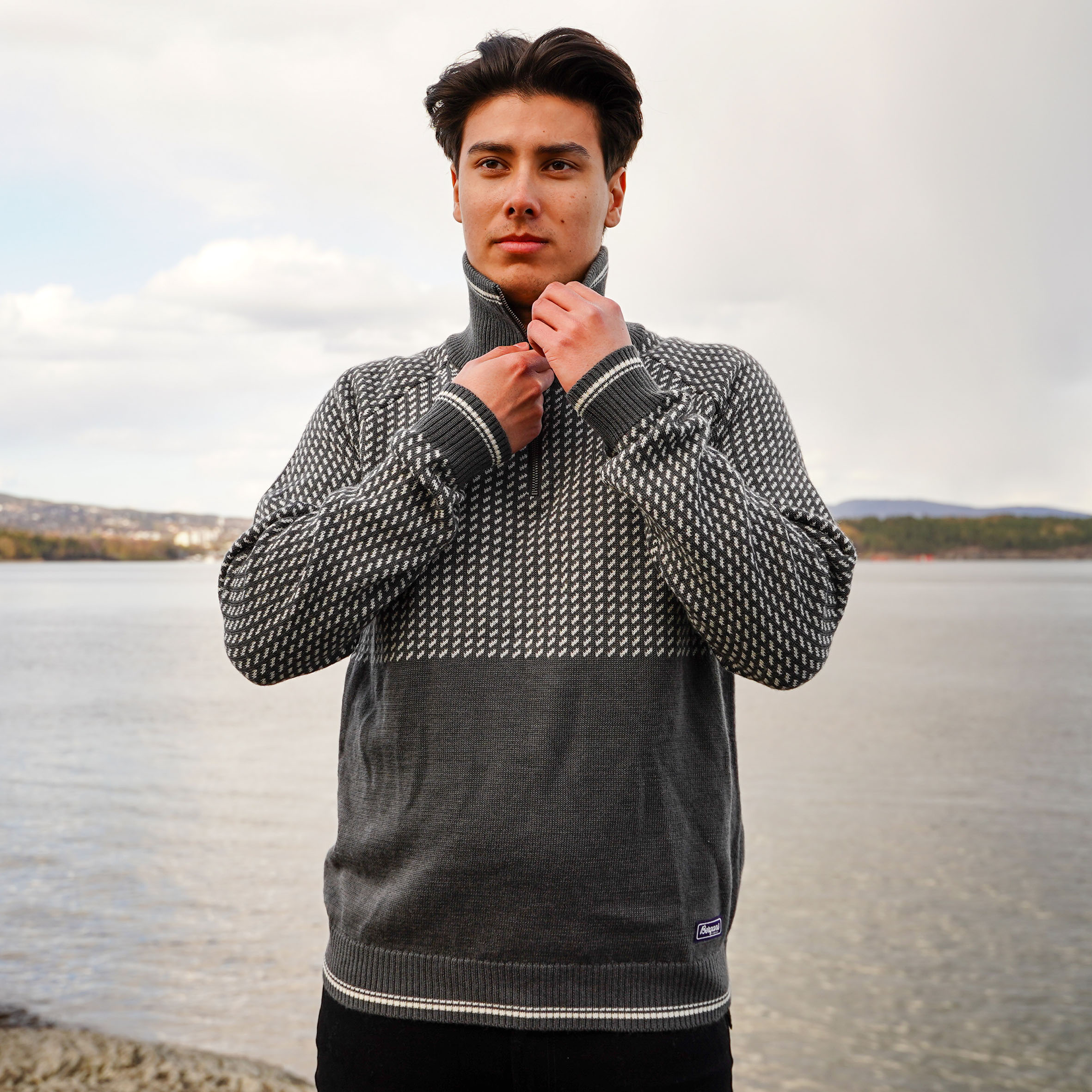 Alvdal Wool Half Zip