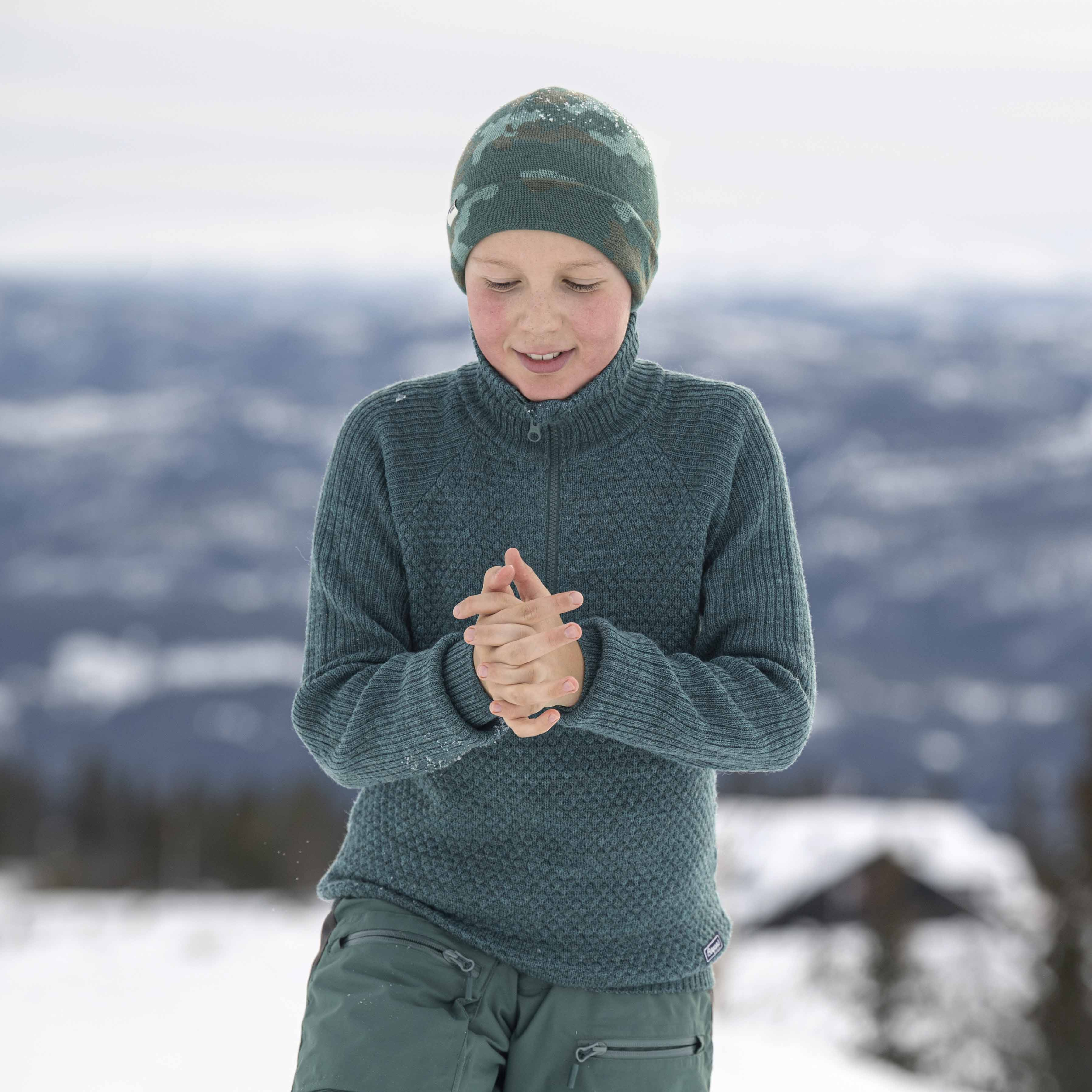 Ulriken Wool Youth Jumper