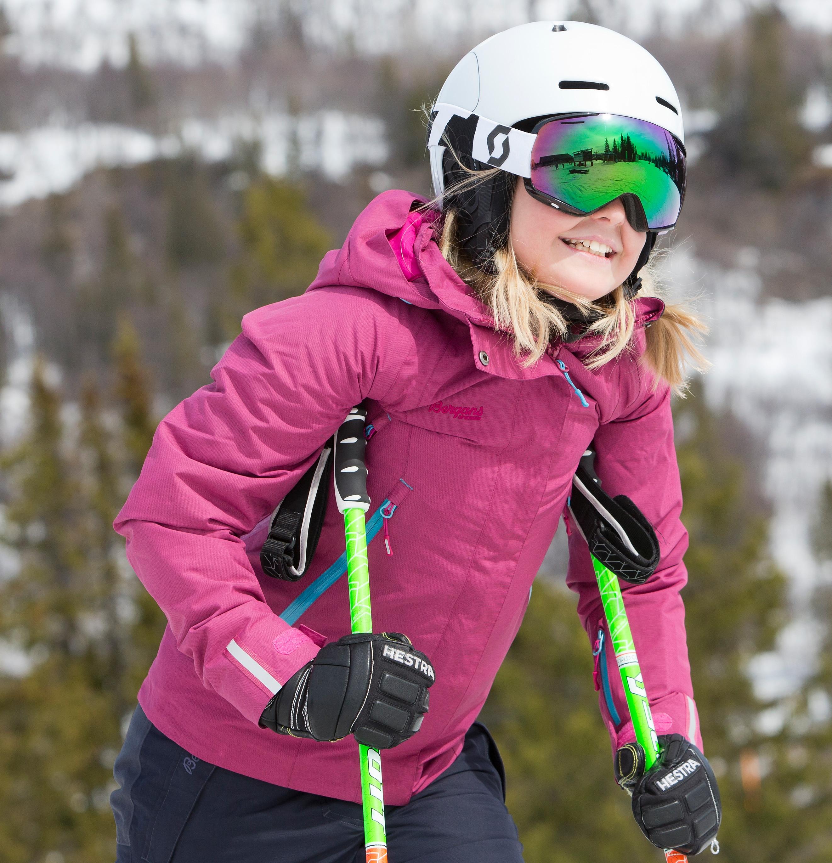Ervik Insulated Youth Girl Jacket