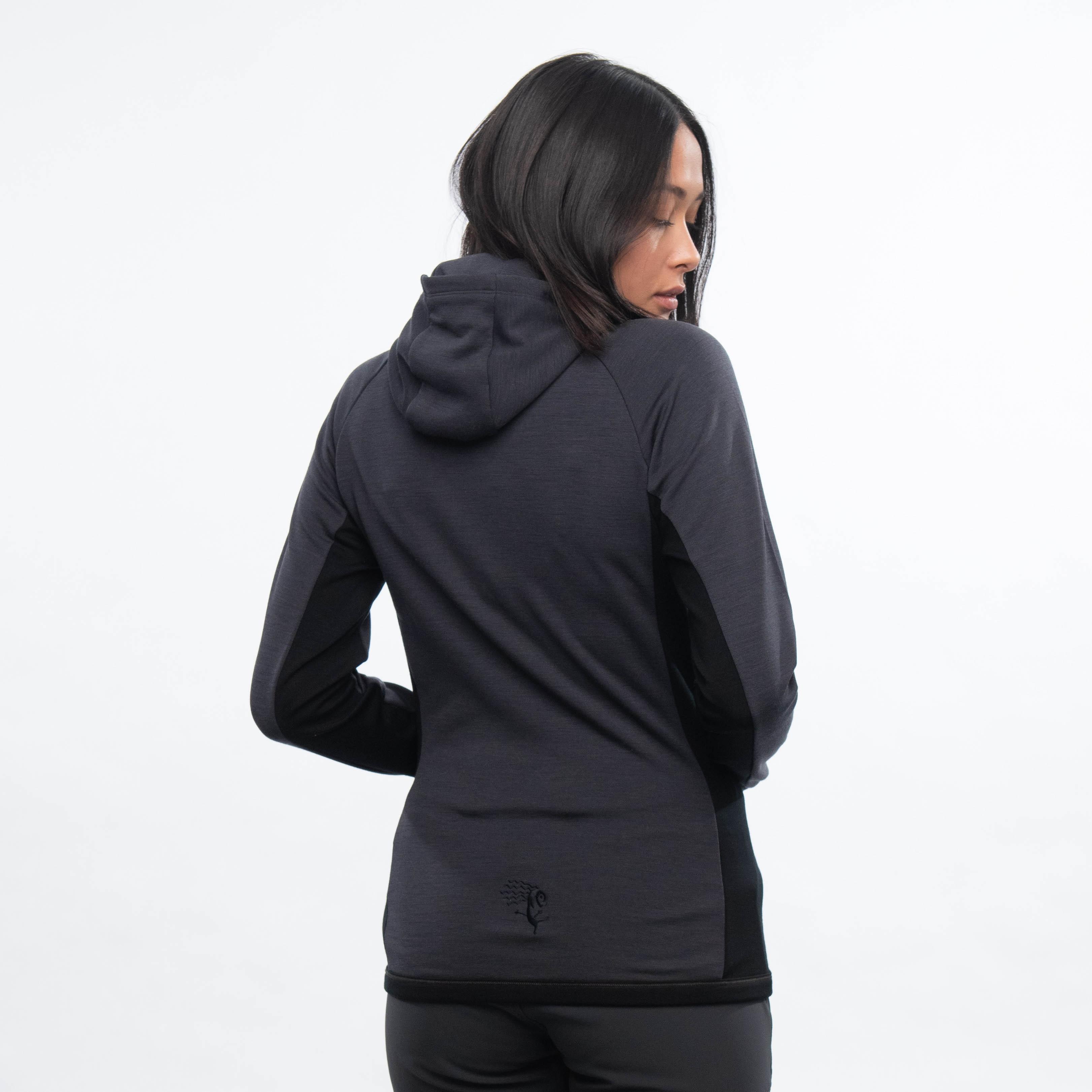 Cecilie Wool Hood Jacket
