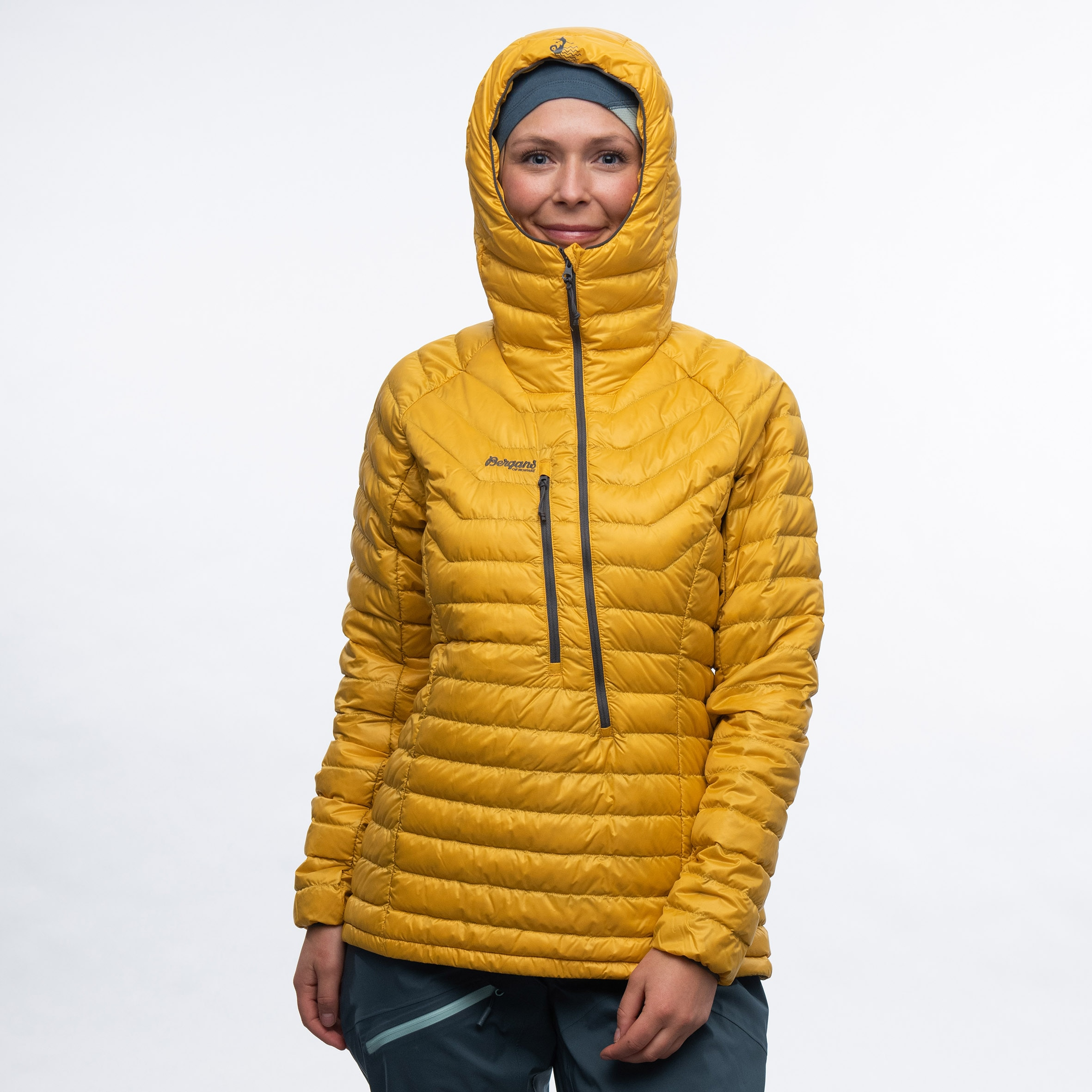 Cecilie Down Light Anorak