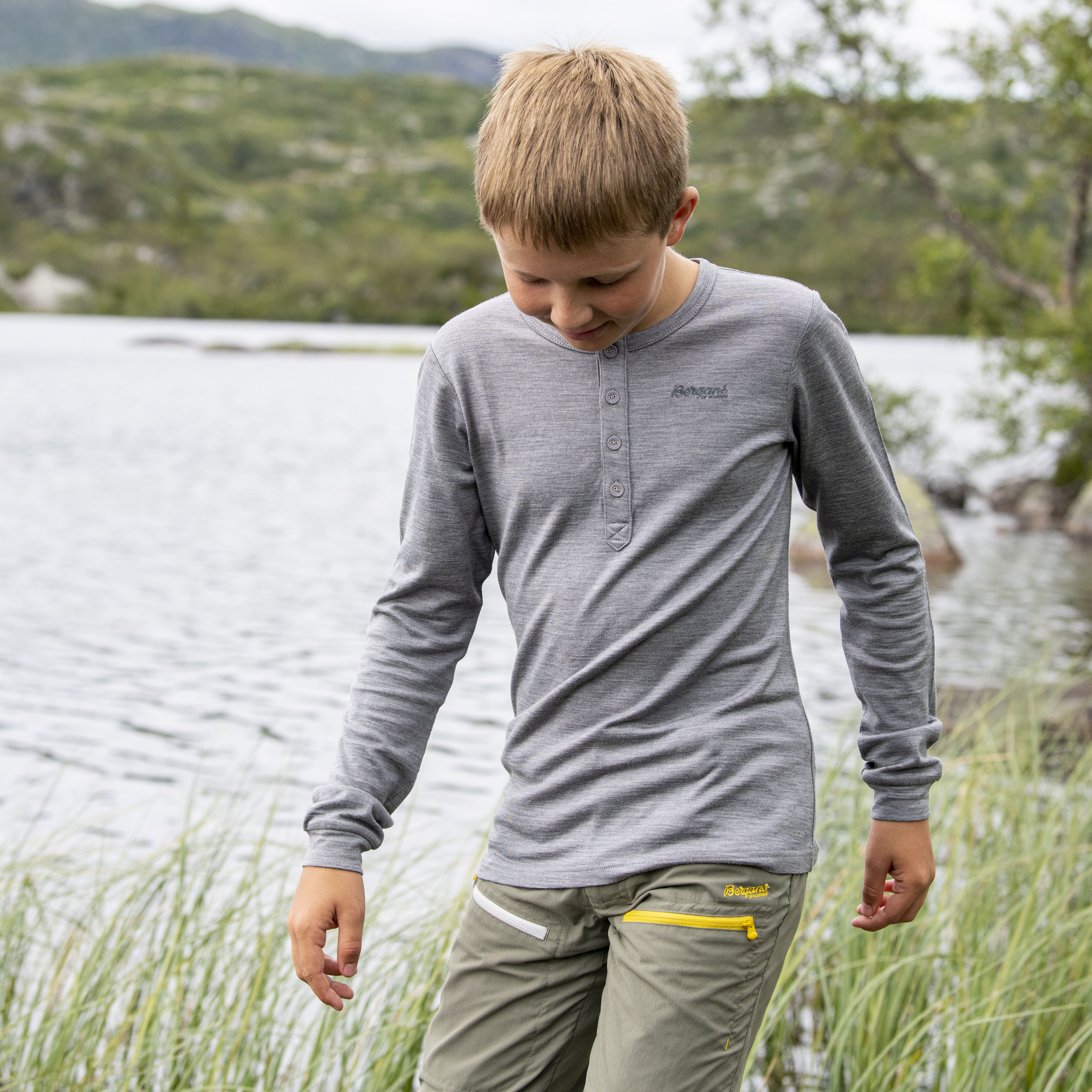 Myske Wool Youth Shirt