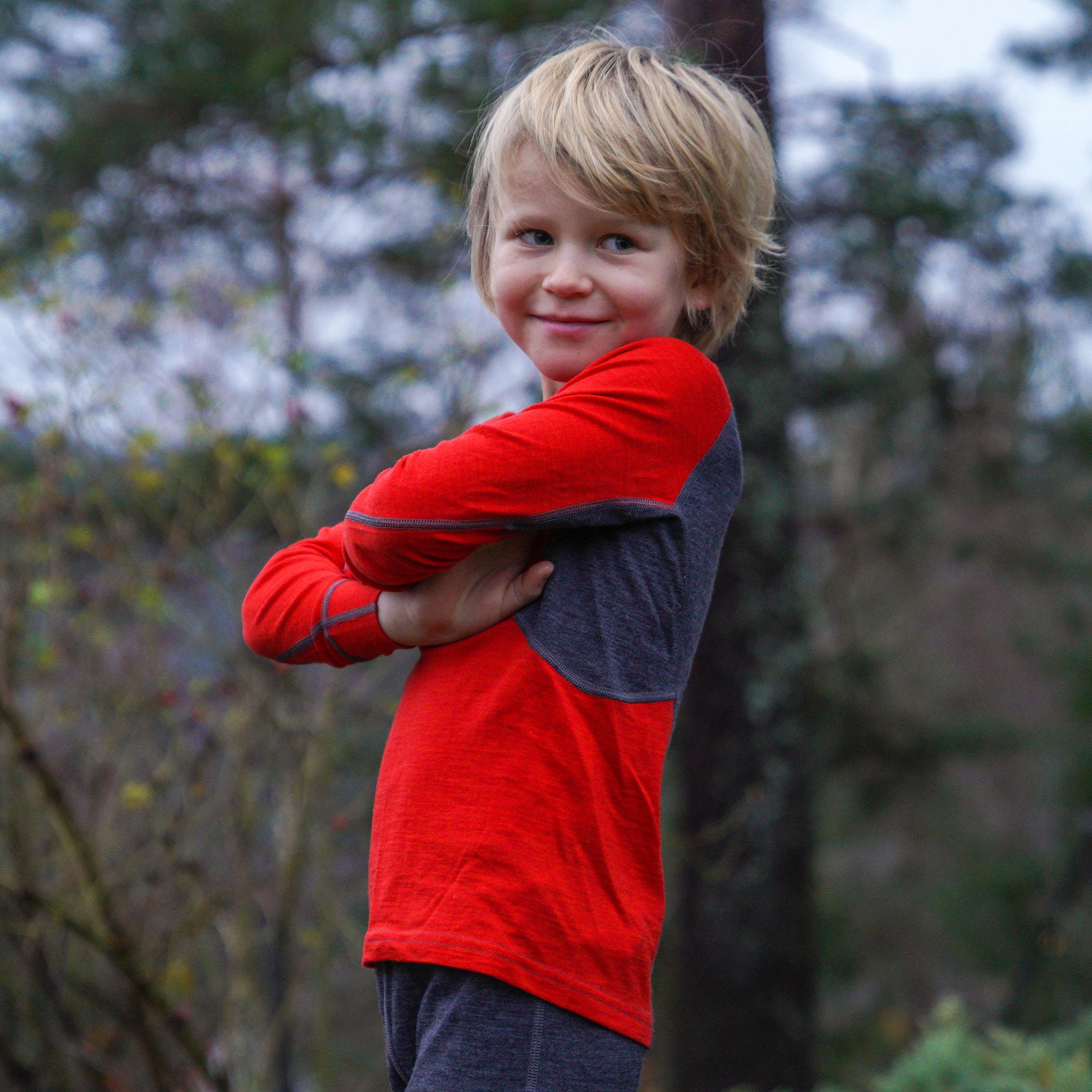 Inner:Pure Kids Long Sleeve